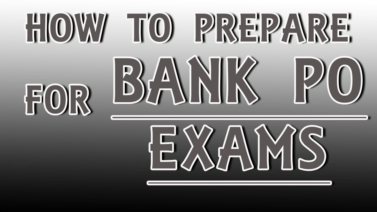Tips to prepare for bank exams