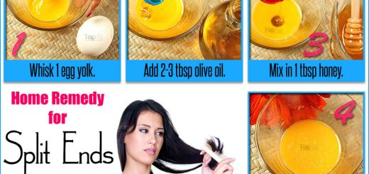 Egg mask, honey: Get rid of split ends with home remedies