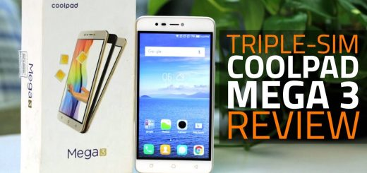 Coolpad Mega 3 with cool The triple-SIM feature